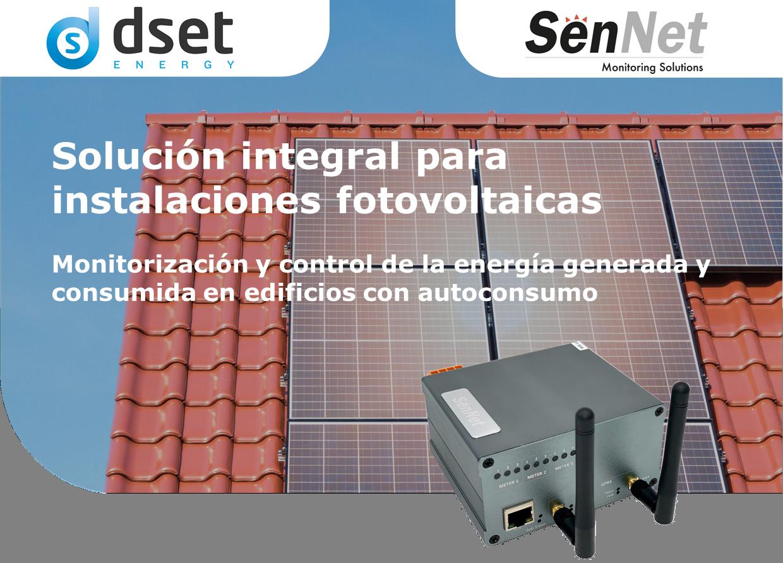Solución de monitorización para instalaciones fotovoltaicas con o sin inyección a red